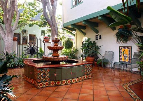 Spice Up Your Backyard Garden Design with Tile