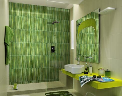standout shower tile designs . . . make a big splash!