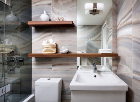 Small bathroom designs truly tile riffic for Small bathroom design toronto