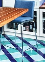 kitchen flooring installation