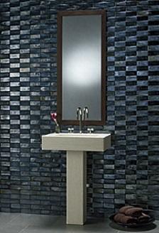 Bathroom Tile Designs Distinctive Dramatic - Black-and-white-bathroom-york-by-novabell